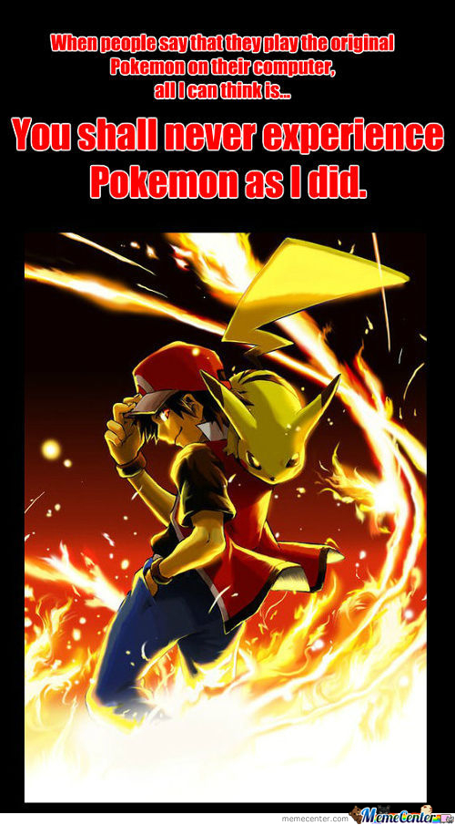 Pokemon As I Played It...