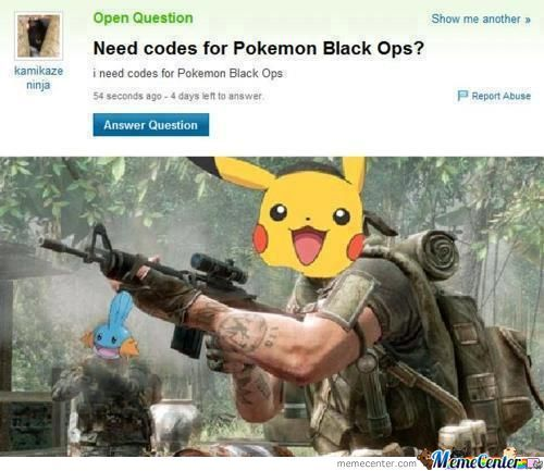 Pokemon Black Ops
