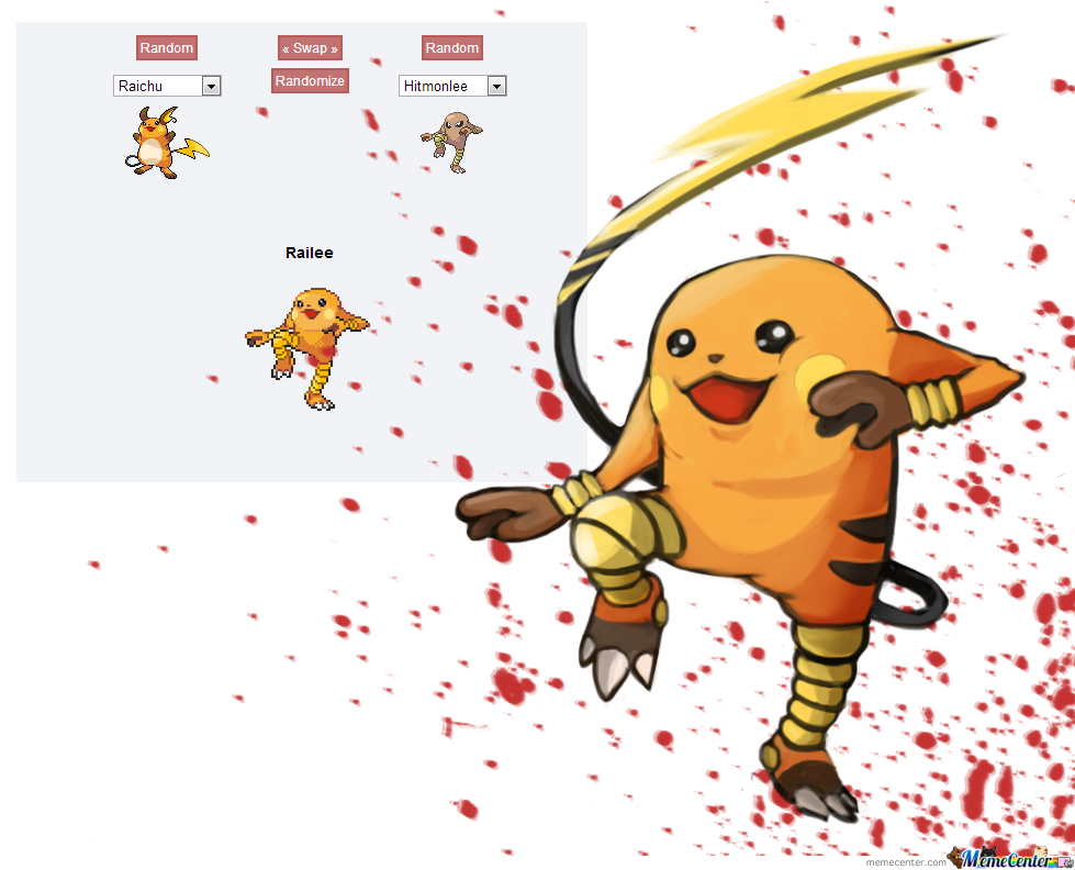 Pokemon Fusion 42 There Is Cute And There Is Ninja Cute