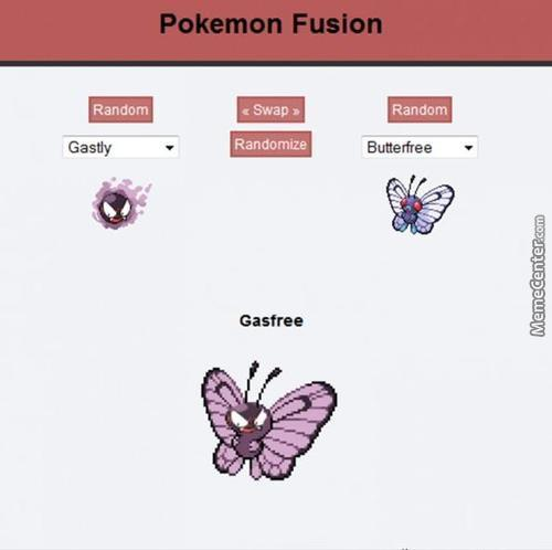 Pokemon Fusion: Gasfree