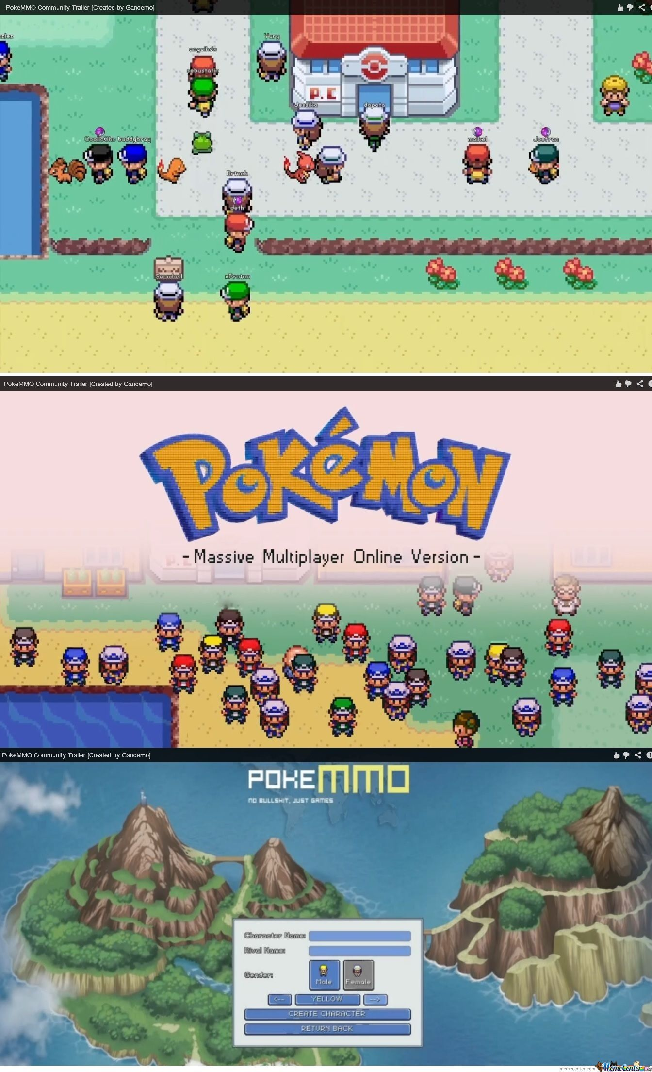 Pokemon Mmo