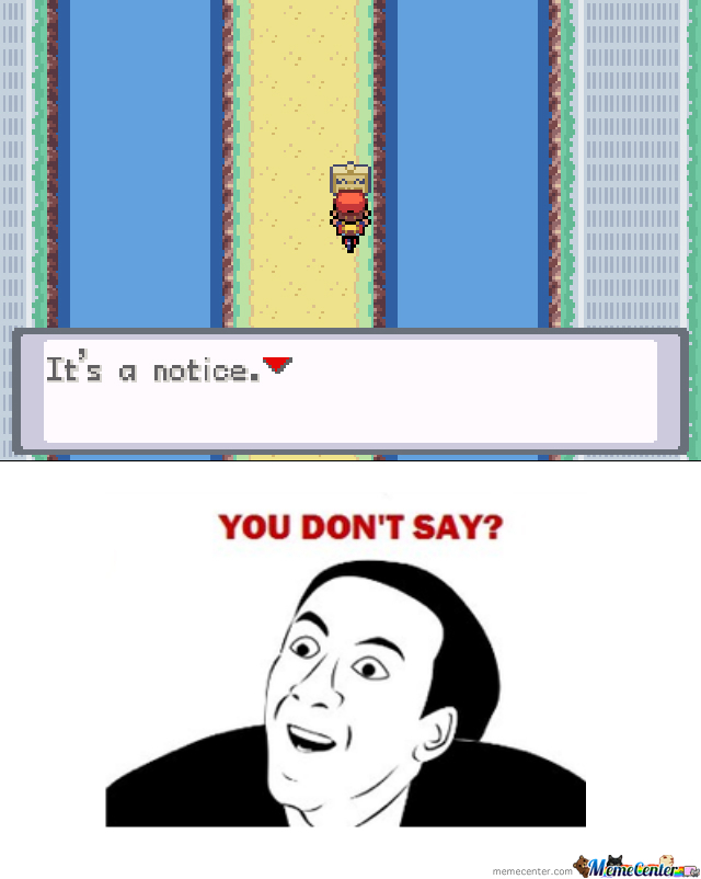 Pokemon Saying Stuff