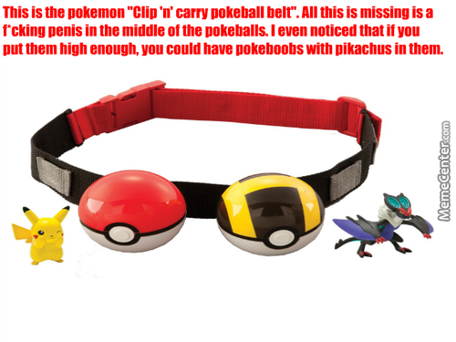 Pokemon Toy Makers Being Geniuses