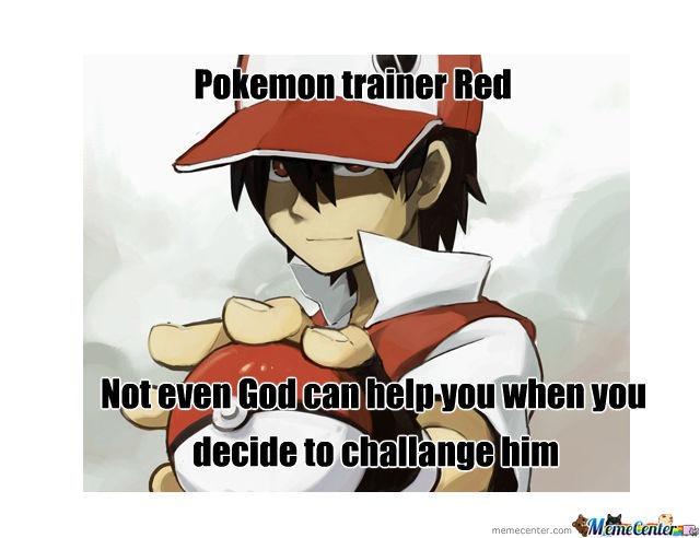 Pokemon Trainer Red
