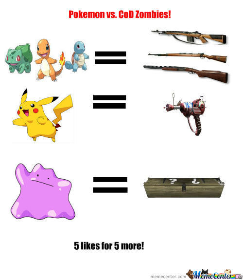 Pokemon Vs. Cod Zombies Part 2