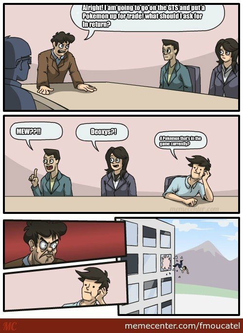 Pokemon X And Y Gts Problems By Fmoucatel Meme Center