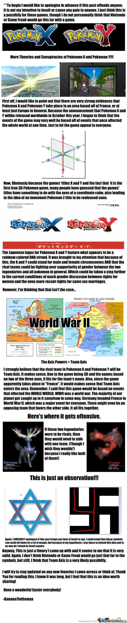 Pokemon X And Y Theory 2