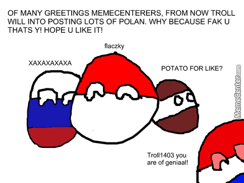 Polan Can Finally Into Memecenter