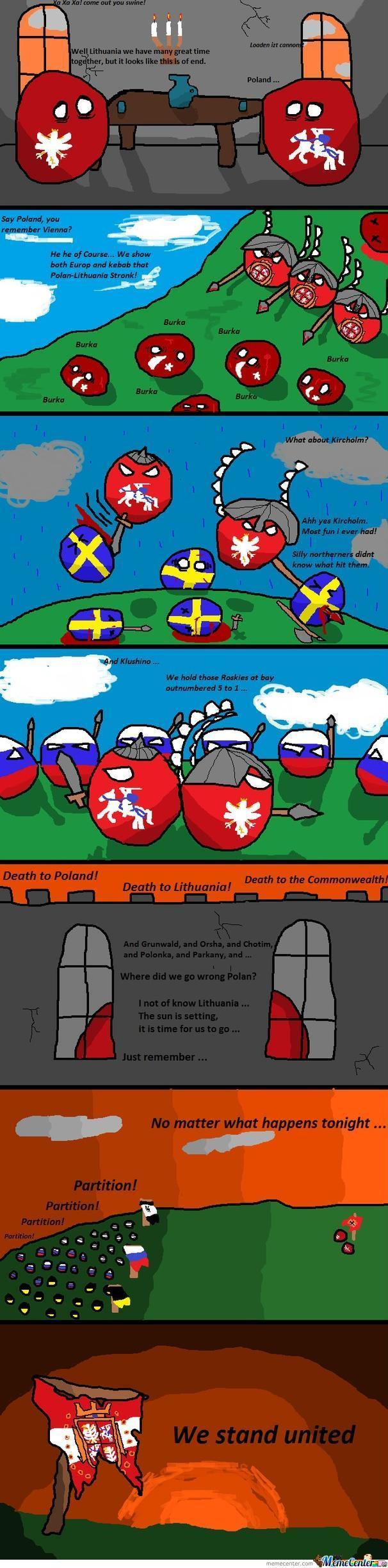 Poland Ball Lesson Of History