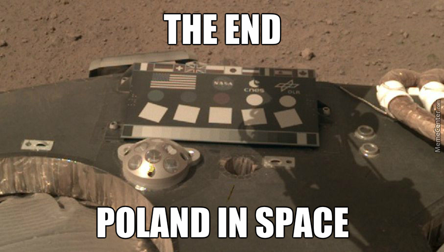 Poland In Space