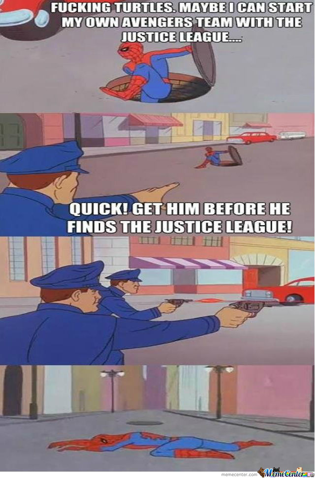 Police Doesn't Want Spider-Man Join The Justice League