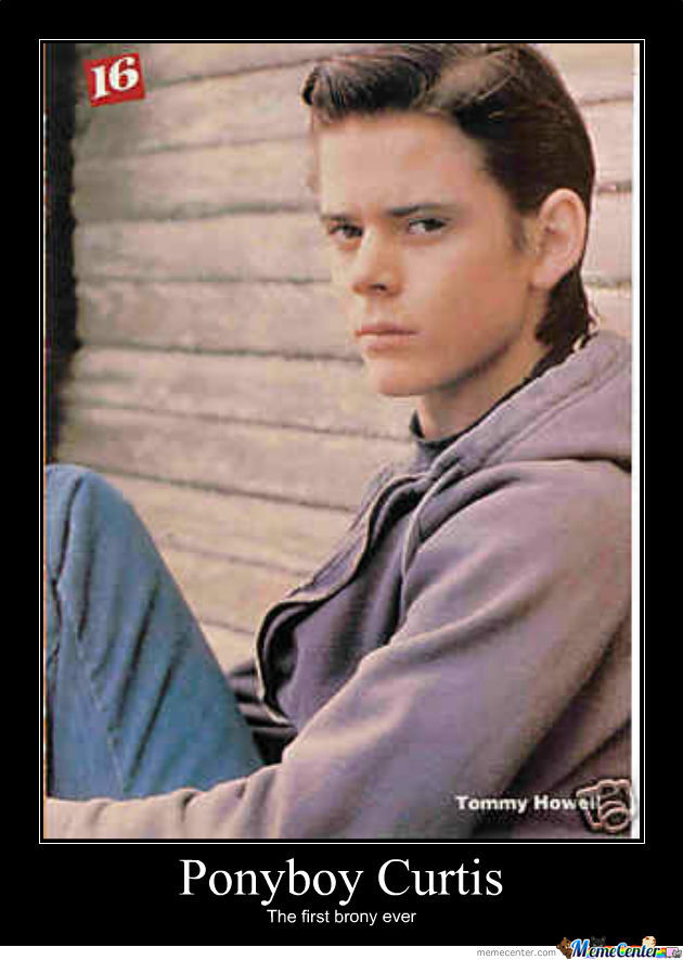 ponyboy curtis_o_497982 ponyboy curtis by pikaruto4752 meme center