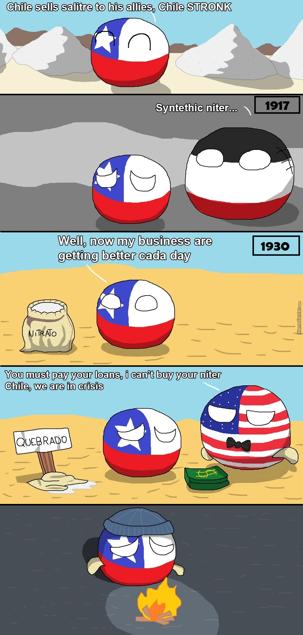 Poor Chile