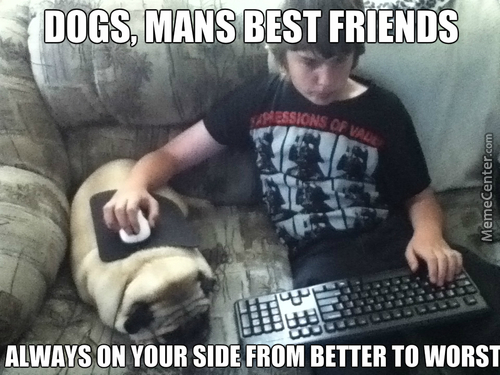 Poor Dog, If He Starts Playing  Any Game That Releases The Beast, He Will Be The First One To Feel His Wrath, He Won't Be Using His Hands Or Feet