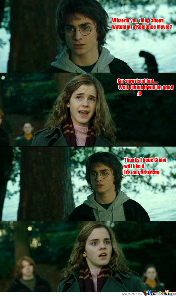 Poor Hermoine She Took The Wrong Idea X)