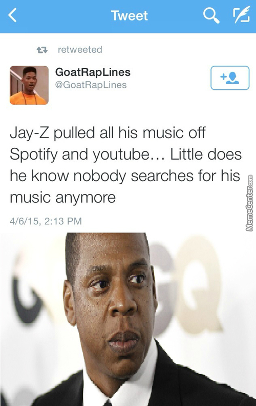 Poor Jay Z :/  But Its Try
