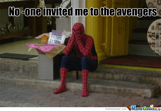 Poor Spiderman