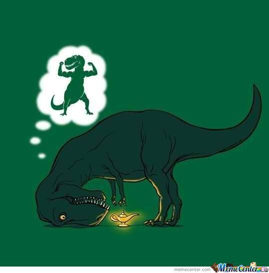 Poor T-Rex Wants Big Hands