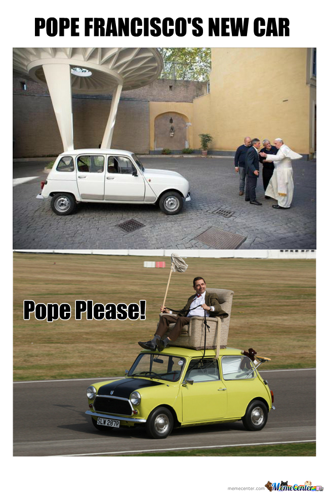 Pope's New Car / Mr Bean