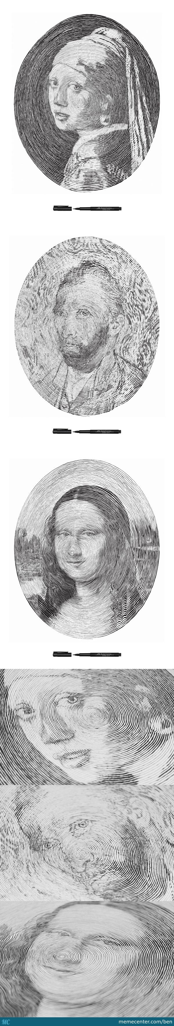 Portraits Drawn By Faber Castel Pencils By Hwee Chong
