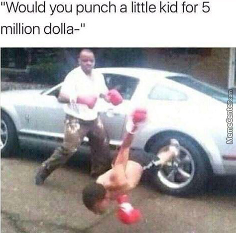 Pow Right In The Kisser
