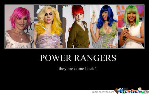 Power Rangers Is Back !