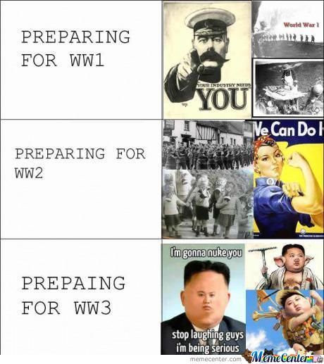 Preparing For Ww3..