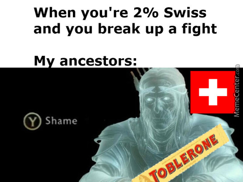 Press S For Swiss