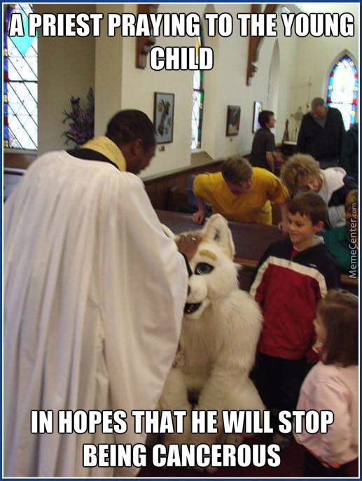 priest smh white people_o_7046085 brutal offensive no god priest church pedophilia child memes best,Child Of God Meme