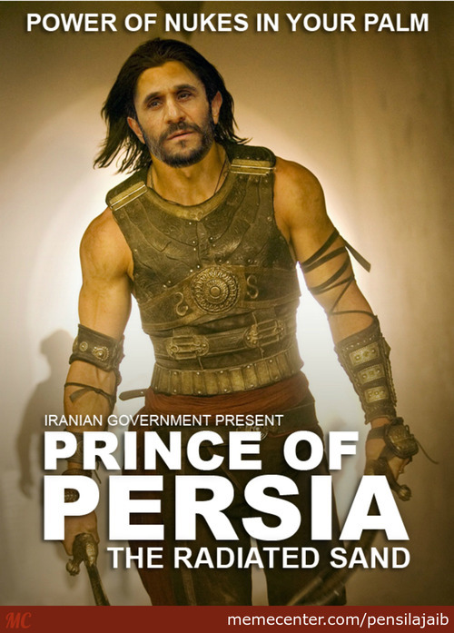 Prince Of Persia - The Radiated Sand