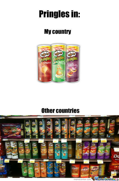 Pringles In My Country