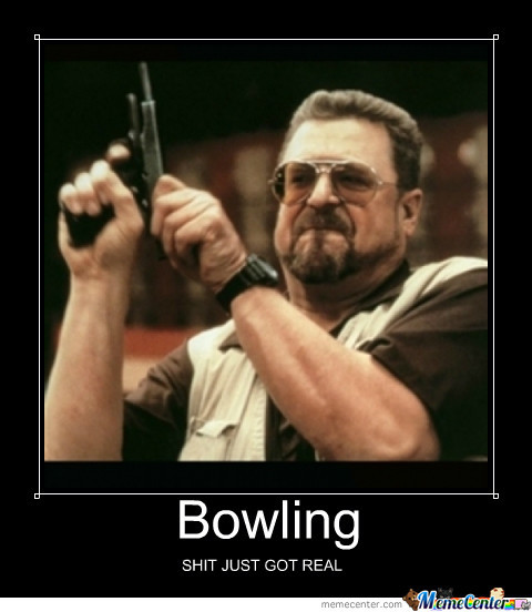 Pro Bowling By Recyclebin Meme Center