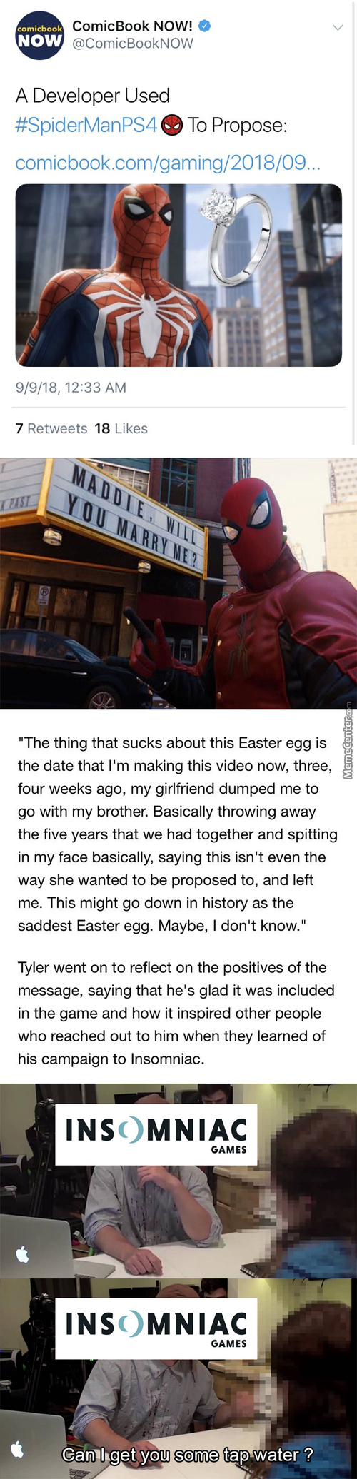 Probably One Of The Saddest Easter Eggs In Gaming Now (The Developers Are Removing It Btw)