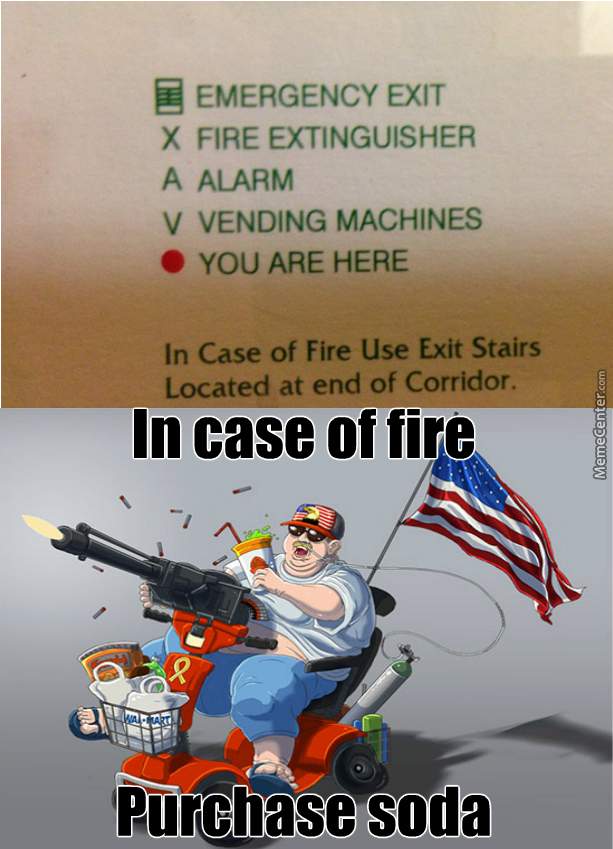 Proceed To Exit Through Gun Store By 7ate9 Meme Center