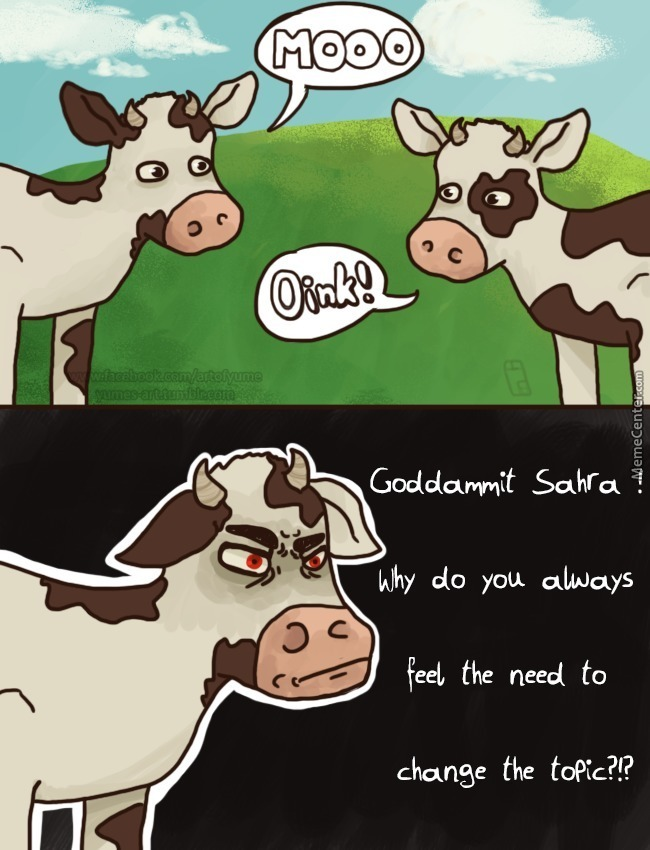 Professional Cows: Outstanding In Their Field