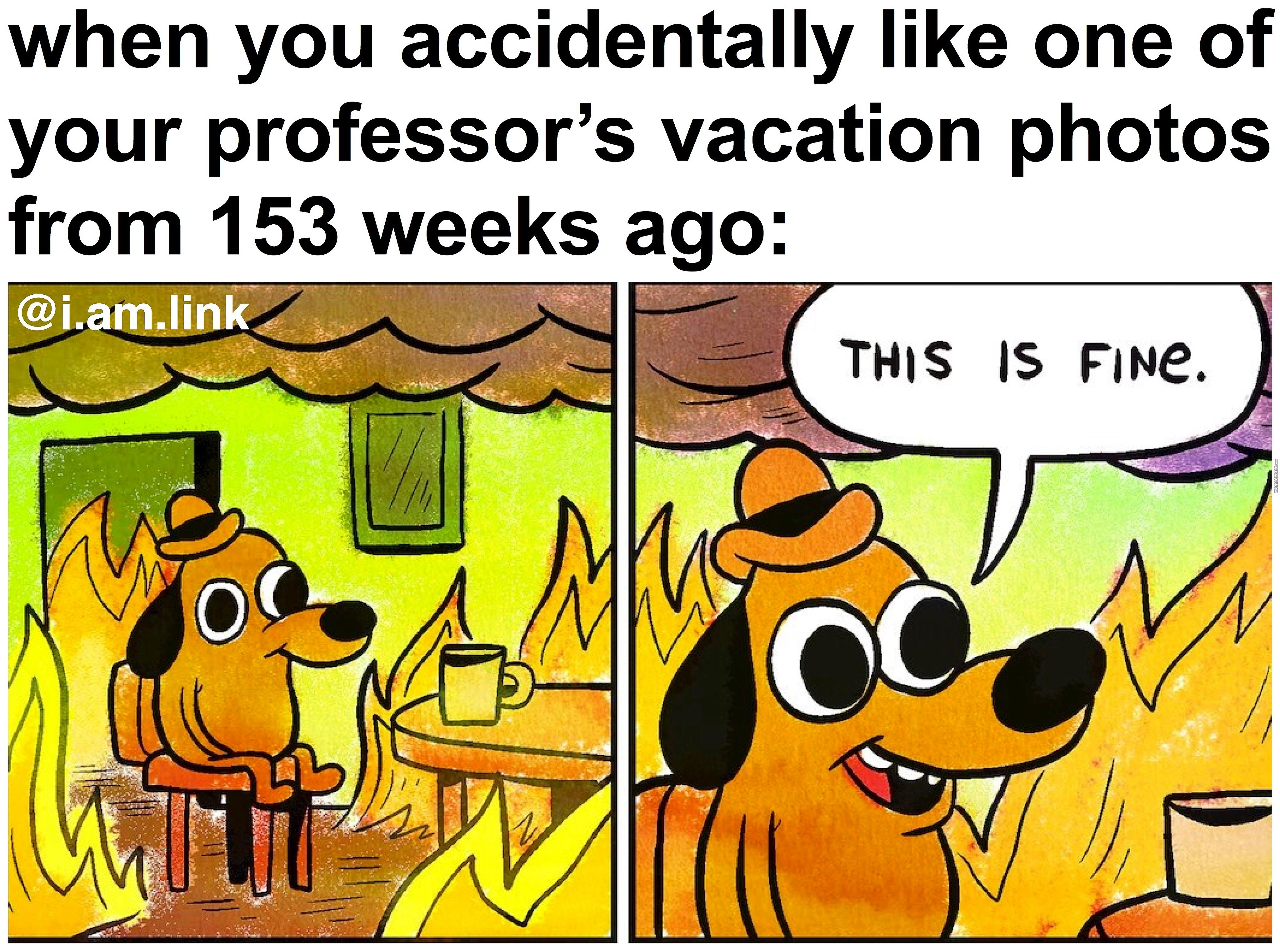 professor this is fine_o_7154443 professor, this is fine by i am link meme center