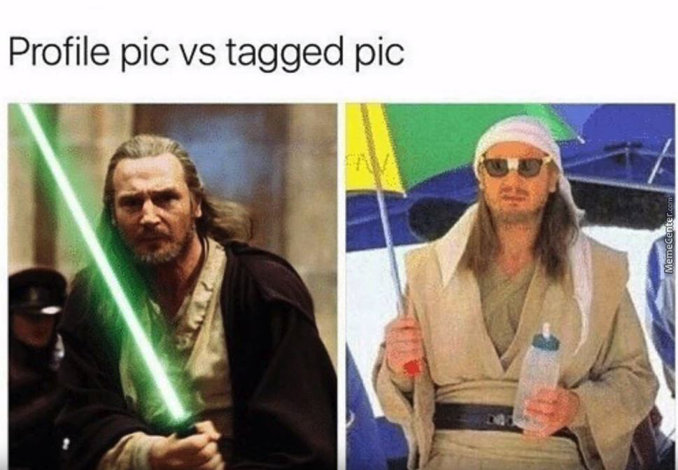 Profile Pic Vs Tagged Pic