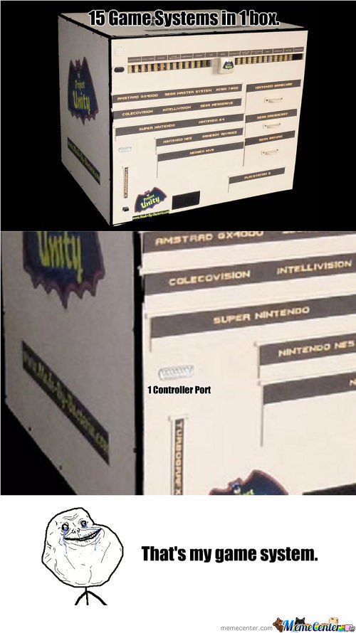 Project Unity (15 Game Systems In 1 Box)