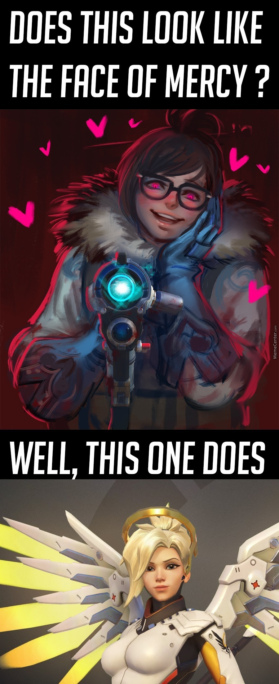 Psycho Mei Is Best Mei. And Never Forget To Commend Your