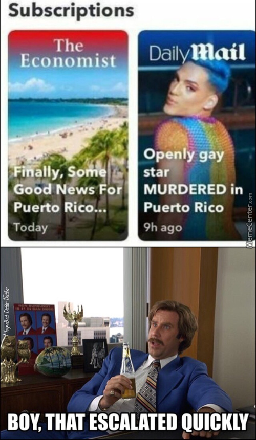 Puerto Rico Seems A Good Destination For A Vacation
