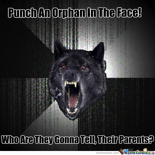 Punch An Orphan!!!