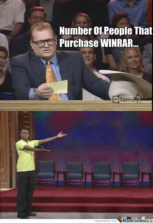 Purchase Winrar? How About No