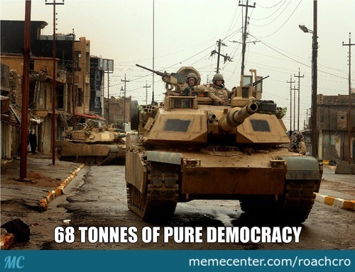 Pure Democracy Is Everywhere!
