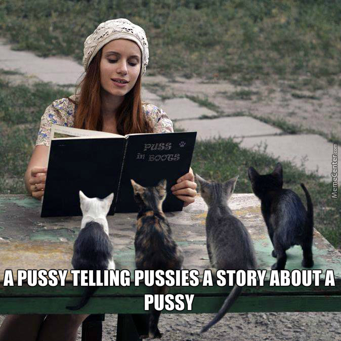 Pussy Telling Pussy Stories