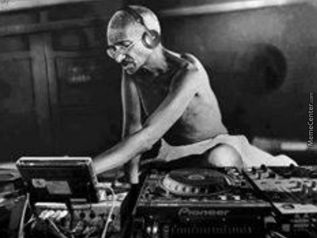 put your hands up for dj gandhi by rahul9 meme center