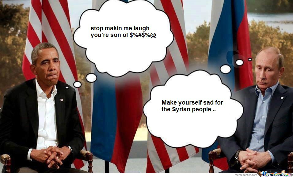 Putin And Obama Trolling About Syria