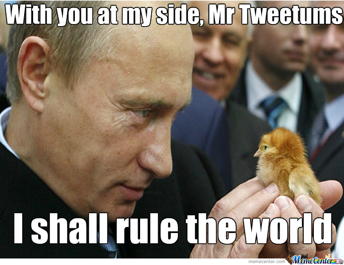 Putin Gets All The Chicks