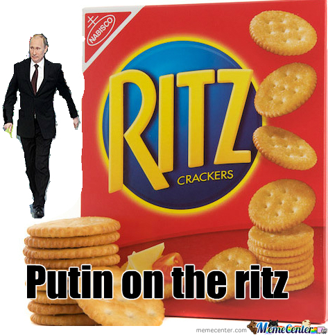 putin on the ritz