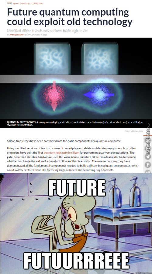 Quantum Computers. Soon.