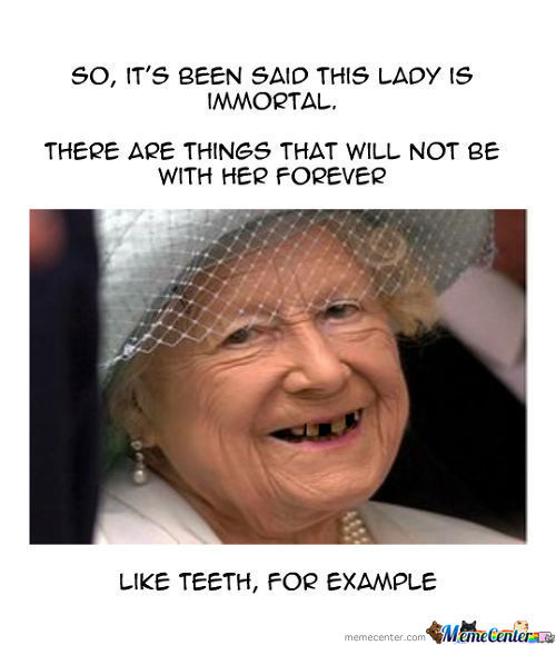 Queen Elizabeth, The Immortal